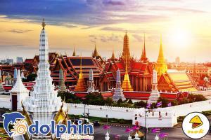 Du lịch Thái Lan Bangkok - Pattaya - Safari World - Buffet 86 tầng 5N4Đ bay Nok Air KH từ Hồ Chí Minh