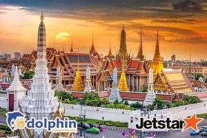 Tour du lịch Thái Lan dịp lễ 30/4: BANGKOK - PATTAYA 5N4Đ bay Jetstar KH từ HCM