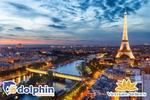 [Hà Nội ] Tour du lịch Châu Âu 5 nước: Pháp - Luxembourg -  Bỉ - Hà Lan - Đức KS 4* bay hàng không Vietnam Airlines