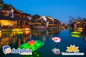 Dịp lễ 30/4 - Trung Hoa huyền bí: Thượng Hải - Hàng Châu - Ô Trấn 5N4Đ bay Vietnam Airlines