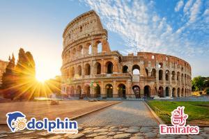 [Hà Nội] Tour du lịch Châu Âu 4 nước: Pháp - Thụy Sĩ - Ý - Vatican bay hàng không 5* Emirate Airlines