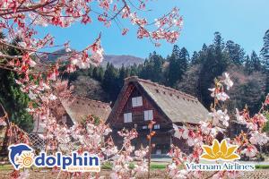 [Hà Nội] Du lịch Nhật Bản 2020: Tokyo - Núi Phú Sĩ - Shirakawago - Nagoya 5N4Đ bay Vietnam Airlines