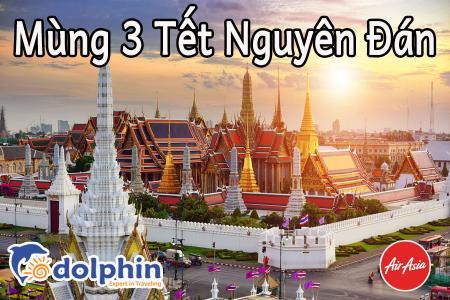 M3 Tết Nguyên Đán 2019 - Du lịch Thái Lan 5N4Đ: Bangkok - Pattaya - Safari - Buffet 86 tầng bay Air Asia  khởi hành từ Hà Nội