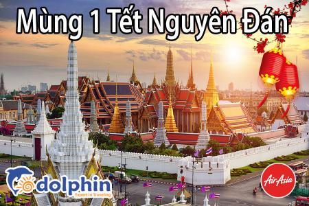 Tối M1 Tết Nguyên Đán 2019 - Du lịch Thái Lan 5N4Đ: Bangkok - Pattaya - Safari World - Buffet 86 tầng bay Air Asia KH từ Hà Nội