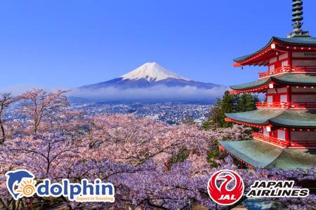 Du lịch Nhật Bản 2019: Ibaraki – Yamanashi – Tokyo 4N4Đ bay Japan Airlines khởi hành từ HCM