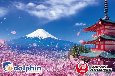 Du lịch Nhật Bản 2019: Tokyo – Yamanashi – Fuji -  Nagoya – Osaka – Kobe 6N6Đ bay Japan Airlines KH từ HCM