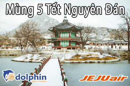 M5 Tết Nguyên Đán 2019- Du Lịch Mùa Đông Hàn Quốc 5N4Đ: Seoul- Nami - Everland - Khu trượt tuyết Elysian bay JejuAir KH từ HCM
