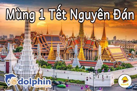 M1 Tết Nguyên Đán 2019 - Du lịch Thái Lan 4N3Đ: Bangkok - Pattaya - Safari World bay Nok Air KH từ HCM
