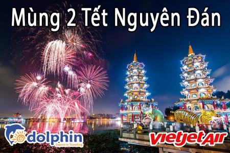 M2 Tết Nguyên Đán 2019- Du lịch Đài Loan 5N4Đ: Cao Hùng - Đài Trung - Đài Bắc bay Vietjet Air KH từ HCM