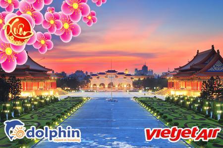 Du lịch Đài Loan 2019: Đài Bắc- Đài Trung- Cao Hùng 5N4Đ bay Vietjet Air khởi hành từ Hà Nội