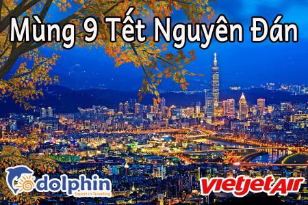 Mùng 9 Tết Nguyên Đán - Du lịch Đài Loan: Cao Hùng - Đài Trung - Đài Bắc 5N4Đ bay Vietjet Air KH từ HCM
