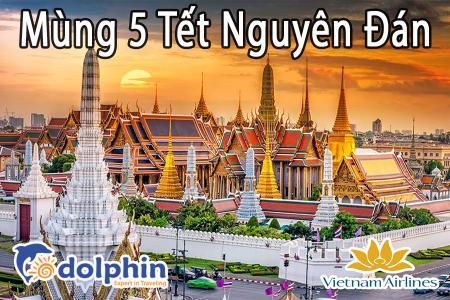 M5 Tết Nguyên Đán 2019- Du lịch Thái Lan 5N4Đ: Bangkok - Pattaya bay Vietnam Airlines KH từ Hà Nội