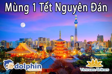 Tối M1 Tết Nguyên Đán 2019 - Du lịch Nhật Bản 6N5Đ: Tokyo – Yamanashi - Nagoya – Kyoto – Osaka bay Vietnam Airlines  KH HCM