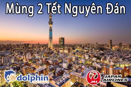 M2 Tết Nguyên Đán 2019 - Du lịch Nhật Bản 5N4Đ: Tokyo - Kawazu -  Sakura – Yamanashi bay Japan Airlines KH HCM