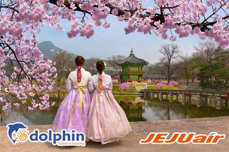 Tour du lịch Hàn Quốc 5N4Đ: SEOUL - NAMI - EVERLAND bay hàng không Hàn Quốc khởi hành từ HCM