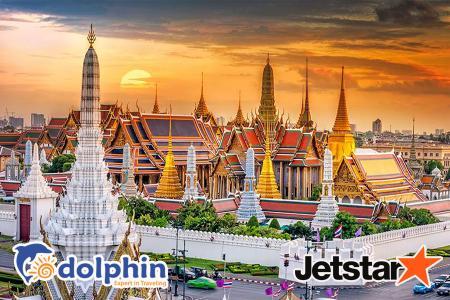 Tour du lịch Thái Lan dịp lễ 30/4: Bangkok – Pattaya – Nanta Show – Buffet 86 tầng Bay Jetstar KH từ Hồ Chí Minh