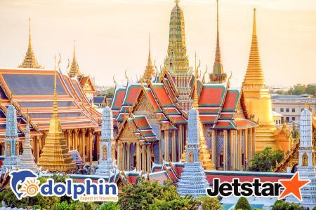 Tour du lịch Thái Lan 2019: Bangkok – Pattaya – Nanta Show – Buffet 86 tầng Bay Jetstar KH từ Hồ Chí Minh