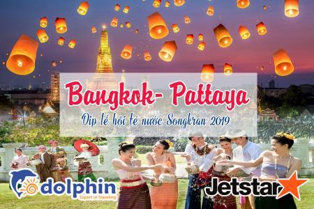 Tour du lịch Thái Lan Dịp Lễ Té Nước 2019: Bangkok – Pattaya – Nanta Show – Buffet 86 tầng Bay Jetstar KH từ Hồ Chí Minh
