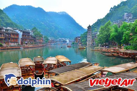 [Hồ Chí Minh] Tour Trương Gia Giới - Phượng Hoàng Cổ Trấn 6N5Đ bay VietJet Air