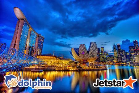 [Hồ Chí Minh] Du lịch Singapore - Malaysia- Indonesia 6N5Đ: Một hành trình - Ba quốc gia bay JetStar