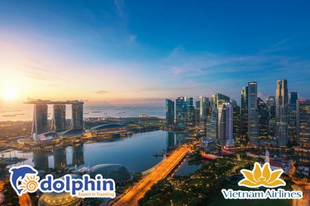 [Hà Nội ] Tour du lịch Singapore - Sentosa - Garden by the Bay 4N3Đ bay Vietnam Airlines