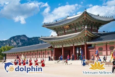 [Hà Nội] Du lịch Hàn Quốc Cao cấp 2019: Seoul - Everland - Nami - 5N4Đ Khách sạn 5* Quốc tế bay sáng Vietnam Airlines