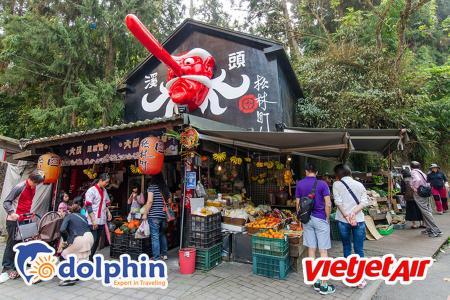 Tour du lịch Đài Loan 2019: Cao Hùng - Làng Yêu Quái - Nam Đầu - Đài Trung - Đài Bắc bay Vietjetair khởi hành từ Hồ Chí Minh