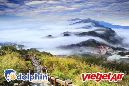 Du lịch Đài Loan: Cao Hùng - Gia Nghĩa - Núi A Lý Sơn - Nam Đầu - Đài Trung - Đài Bắc bay Vietjetair khởi hành từ Hồ Chí Minh