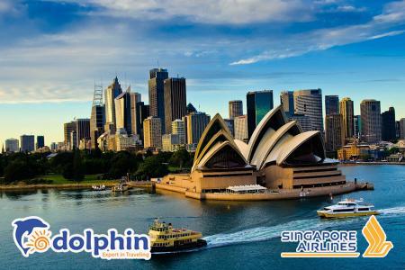 [Hà Nội] Tour du lịch nước Úc 2019