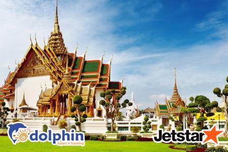 [Hồ Chí Minh] Lễ Quốc khánh 02/09: Tour du lịch Thái Lan 2019: Bangkok – Pattaya – Nanta Show – Buffet 86 tầng Bay Jetstar