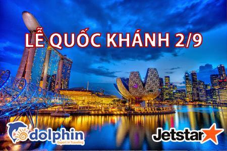 [Hồ Chí Minh] [Lễ Quốc Khánh 02/09] Du lịch Singapore - Malaysia- Indonesia 6N5Đ: Một hành trình - Ba quốc gia bay JetStar
