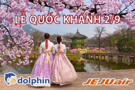 [Hồ Chí Minh] [Lễ Quốc Khánh 02/09] Tour du lịch Hàn Quốc 5N4Đ: Seoul - Đảo Nami - Everland KS 5* Quốc tế bay HK Hàn Quốc
