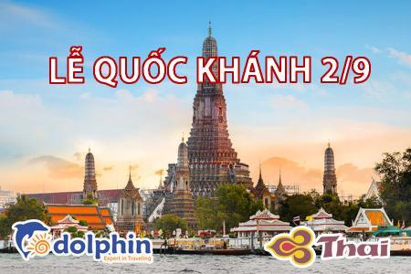 [Hà Nội] [Lễ Quốc Khánh 02/09] Du lịch Thái Lan