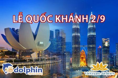 [Hà Nội] [Lễ Quốc Khánh 02/09] Du lịch Singapore - Malaysia 6N5Đ: Một hành trình - Hai đất nước bay Vietnam Airlines