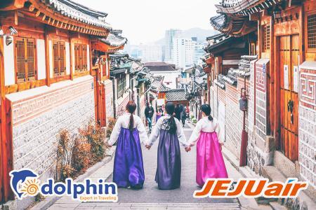 [Hồ Chí Minh] [Mùa Thu] Tour du lịch Hàn Quốc 5N4Đ: Seoul - Đảo Nami - Everland KS 5* Quốc tế bay HK Hàn Quốc