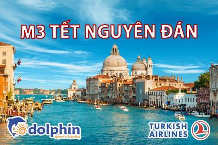 [Hà Nội] [Mùng 3 Tết AL] Tour du lịch Châu Âu 4 nước: Pháp - Thụy Sĩ - Ý - Vatican bay hàng không Turkish Airlines