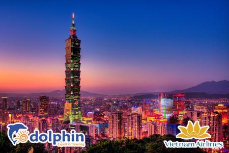 [Hà Nội] Du lịch Đài Loan 2019: Đài Bắc - Đài Trung 4N3Đ bay Vietnam Airlines