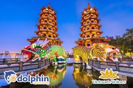 [Hà Nội] Du lịch Đài Loan 2019: Đài Bắc - Đài Trung - Cao Hùng 5N4Đ bay Vietnam Airlines