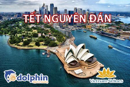 [Hà Nội] [Mùng 2 Tết AL] Tour du lịch nước Úc 2020