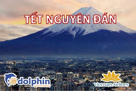 [Hồ Chí Minh] [Mùng 1, 2 Tết AL] Du lịch Nhật Bản 2020: Nagoya - Yamanashi - Fuji - Kyoto - Narita bay Vietnam Airlines