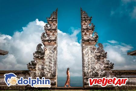 [Hà Nội] [Lễ 30/4] Du lịch Indonesia 2020: Cổng trời Bali 4N3Đ bay Vietjet Air
