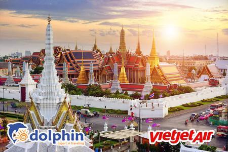 [Hà Nội] Du lịch Thái Lan 2020: Bangkok - Pattaya - Safari World - Wat Arun 5N4Đ bay Vietjet Air