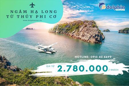 Combo thủy phi cơ & khách sạn 5* Mường Thanh Luxury Hạ Long