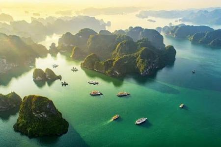 [Hồ Chí Minh] Tâm Linh Tam Chúc - Hạ Long Biển Nhớ bay VietnamAirlines