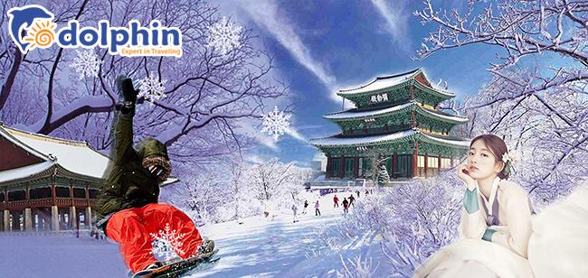 [Hà Nội] [Mùa Đông] Du lịch Hàn Quốc Cao Cấp: Seoul - Everland - Nami - Trượt tuyết 5N4Đ Khách sạn 5* Quốc tế bay sáng Vietnam Airlines